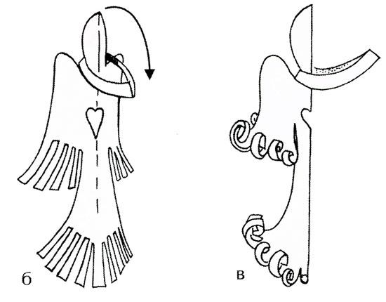 Схема ангела из бумаги своими руками