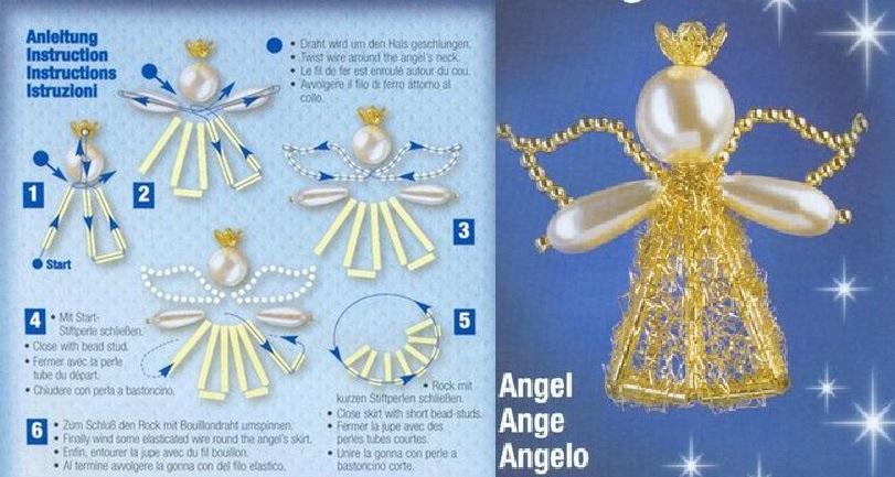 Ангел из стекляруса