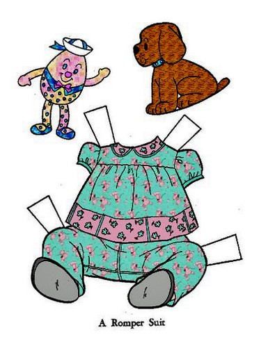 Как сделать из бумаги куклу для мальчиков