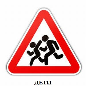 Фото знаков дорожного движения дети