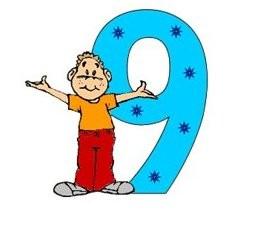 цифра 9 стихи