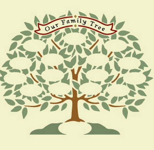 Картинки Родословное Дерево Как Нарисовать Семейное Дерево