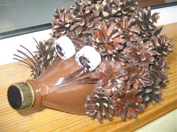 Поделки из природного материала из пластиковых бутылок