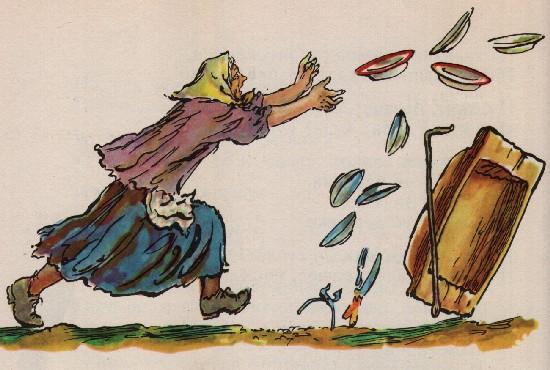 Раскраска на сказки чуковский