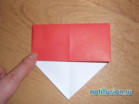 поделка из бумаги гриб