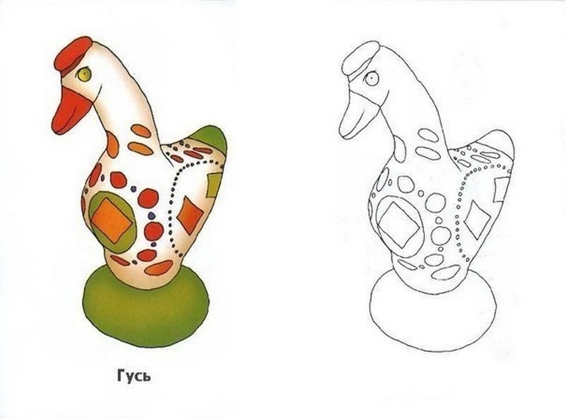 Что такое дымковская игрушка. Как лучше сделать ...