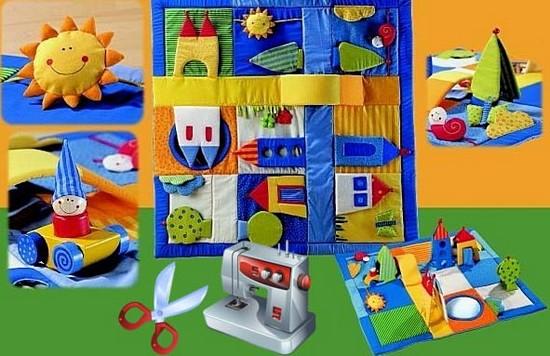 Шьем развивающую текстильную книжку для малыша своими 36
