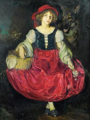 Девушки в эротическом костюме красной шапочки — 4