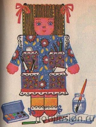 Как сшить куклу органайзер