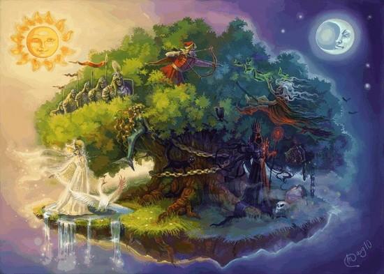 картинки у лукоморья дуб
