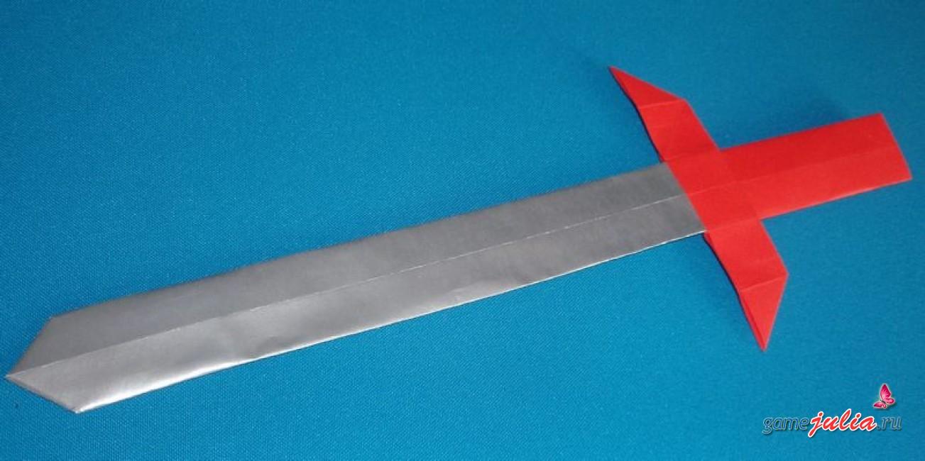 Как сделать меч из картона своими руками поэтапно 53
