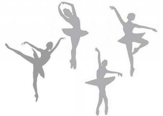 Шаблоны балеринок