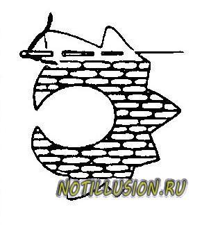 схема вышивки русская гладь