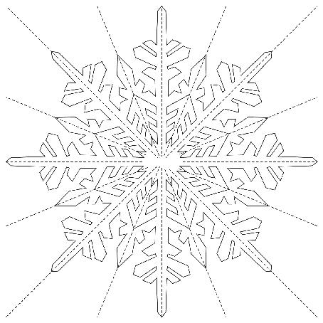 снежинка1