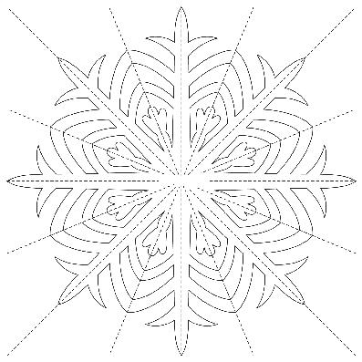 снежинка 2
