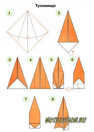 к серединке (схема 2).