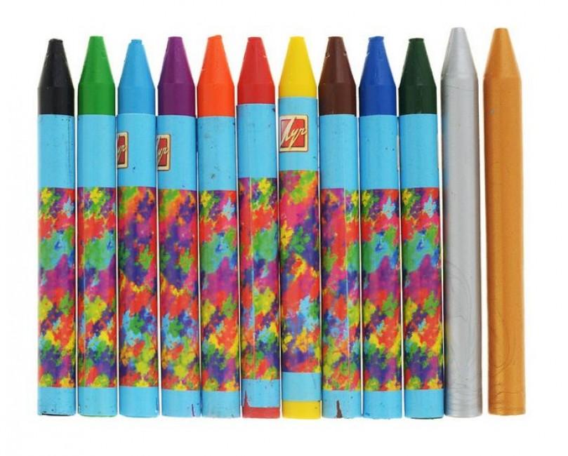 Что такое восковые карандаши